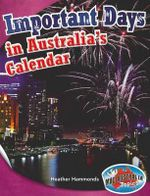 Culture Upper : Important Days in the Australian Calendar - MEA