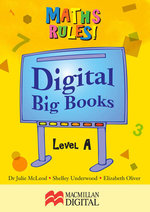 Maths Big Book Level A Digital : Maths Rules! - Collis