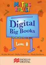 Maths Big Book Level B Digital : Maths Rules! - Collis