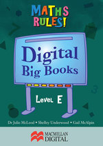 Maths Big Book Level E Digital : Maths Rules! - Collis