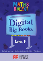 Maths Big Book Level F Digital : Maths Rules! - Collis