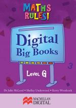 Maths Big Book Level G Digital : Maths Rules! - Collis