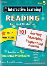 Interactive Learning: Reading Fiction & Nonfiction (CD) : Grade 5 - Teacher Created Resources