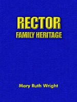 Rector Family Heritage - Mary Ruth Wright