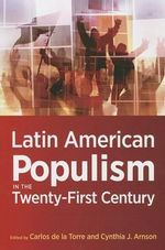 Latin American Populism in the Twenty-first Century : The Un Partition Resolution of Mandatory Palestine...
