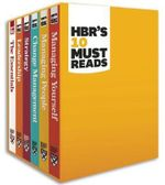 HBR's Must Reads Boxed Set (6 Books) : HBR's 10 Must Reads - Harvard Business Review