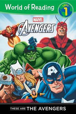 These Are the Avengers Level 1 Reader - Thomas Macri