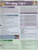 Nursing Care Procedures - BarCharts, Inc.