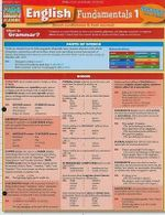 English Fundamentals 1 : Reference Guide - BarCharts, Inc.