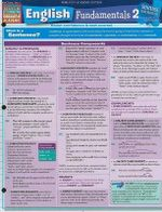 English Fundamentals 2 : Reference Guide - BarCharts, Inc.