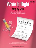 Write It Right with Step by Step, Book One - Edna Mae Burnam