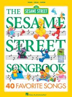 The Sesame Street Songbook : Piano, Vocal, Guitar - Tom Brannon