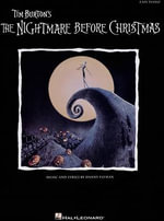 Danny Elfman : The Nightmare Before Christmas (Easy Piano) - Tim Burton