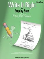 Write It Right with Step by Step, Book Two - Edna Mae Burnam