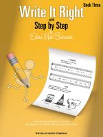 Write It Right with Step by Step, Book Three - Edna Mae Burnam