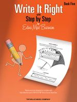 Edna Mae Burnam : Write it Right - Book 5 - Edna Mae Burnam