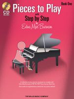 Edna Mae Burnam: Book 1 : Step by Step Pieces to Play - Book 1 - Edna Mae Burnam