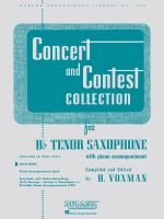 Concert and Contest Collection for BB Tenor Saxophone : Solo Part - Hal Leonard Publishing Corporation