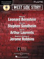 West Side Story Play-along : Solo Arrangements of 10 Songs with CD Accompaniment - Flute - Leonard Bernstein