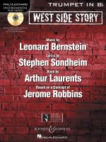West Side Story Play-along : Solo Arrangements of 10 Songs with CD Accompaniment - Trumpet - Leonard Bernstein