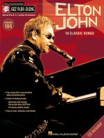 Jazz Play Along: Volume 104 : Elton John - 10 Classic Songs - Elton John