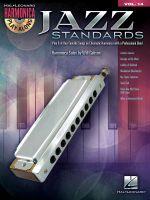 Harmonica Play Along Jazz Standards Volume 14 Book and CD : Harmonica Play-Along Volume 14 (Chromatic Harmonica) - Hal Leonard Publishing Corporation