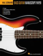 Hal Leonard Bass Guitar Tab Manuscript Paper - Hal Leonard Publishing Corporation