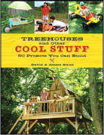 Treehouses And Other Cool Stuff :  50 Projects You Can Build - Jean Stiles