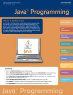 Java Coursenotes : Course Notes Quick Reference Guides - Course Technology