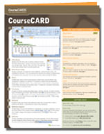 PowerPoint 2007 Coursecard + Certblaster : Coursecards - Axzo Press