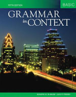 Grammar in Context Basic : Grammar in Context Ser. - Sandra N Elbaum