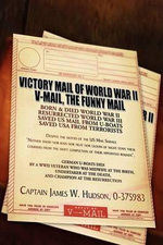 Victory Mail of World War 2 : V-mail, the Funny Mail - James W. Hudson