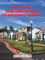 Electrical Troubleshooting Manual for Homeowners and Renters - JOHN COLEMAN