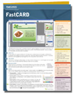 Introduction to Personal Computers Fastcard, Windows Vista Edition : Fastcards - Axzo Press