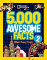 5,000 Awesome Facts (About Everything!) 2 : National Geographic Kids (Hardcover) - National Geographic Kids
