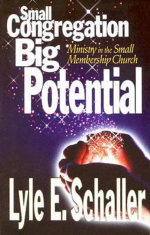 Small Congregation, Big Potential : Ministry in the Small Membership Church - Lyle E. Schaller