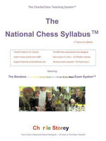 The National Chess Syllabus featuring the Bandana Martial Art Exam System - Charlie Storey