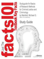 Outlines & Highlights for Basics of Research Methods for Criminal Justice and Criminology by Michael G. Maxfield : 9780534615673 - Cram101 Textbook Reviews