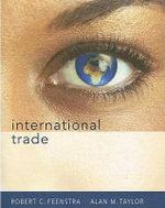 International Trade - University Robert C Feenstra
