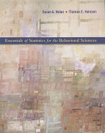 Essentials of Statistics for the Behavioral Sciences - Susan A Nolan