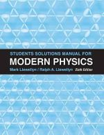 Student Solutions Manual for Modern Physics : Ebook Access Card - Paul A. Tipler