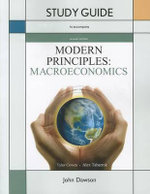 Study Guide for Modern Principles of Macroeconomics : 1-Semester Ebook Access Card - Tyler Cowen