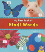 MyFirst Book of Hindi Words - Katy R. Kudela