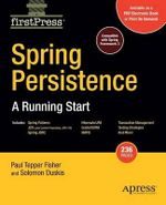 Spring Persistence : A Running Start - Mark Fisher