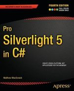 Pro Silverlight 5 in C# : APRESS - Matthew MacDonald