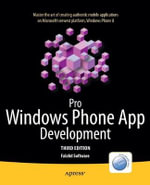 Pro Windows Phone App Development - Falafel Software