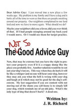 The Not So Good Advice Guy - J R Richard