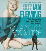 Quantum of Solace : The Complete James Bond Short Stories - Ian Fleming
