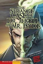 The Strange Case of Dr. Jekyll and Mr. Hyde : Graphic Revolve (Library Binding) - Robert Louis Stevenson