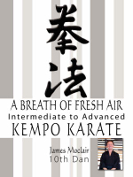 A Breath of Fresh Air : Kempo Karate Intermediate to Advanced - James Moclair